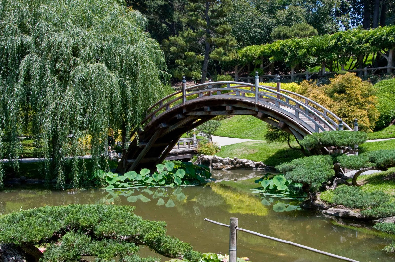 Japanese Botanical Gardens Los Angeles Botanical Gardens