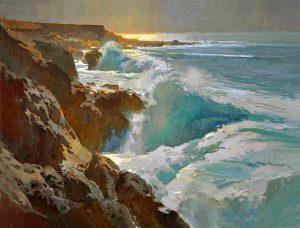 Roberts_Crashing-Waves-at-Garrapata